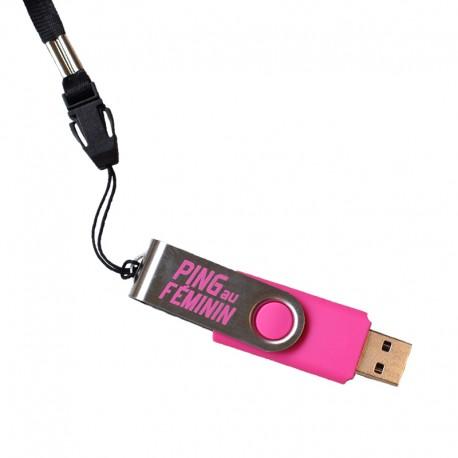 CLES USB PING AU FEMININ