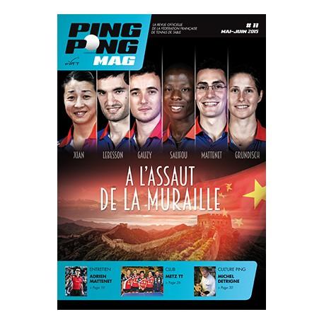 PING PONG MAG N°11 - MAI-JUIN 2015