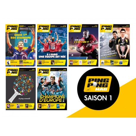 Pack Ping Pong Mag saison 1