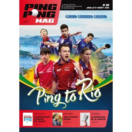 Ping Pong Mag 18 - Juillet/Août 2016