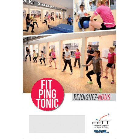 AFFICHE FIT PING TONIC