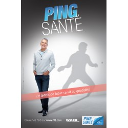 AFFICHE PING SENIOR MONSIEUR