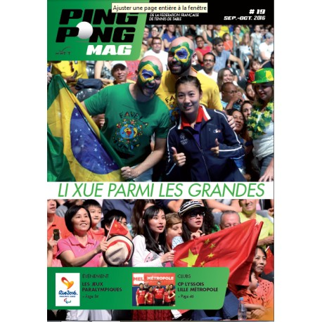 Ping Pong Mag 19 - Septembre/Octobre 2016