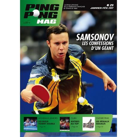 Ping Pong Mag 21 Janvier/Février 2017