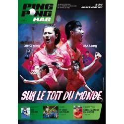 Ping Pong Mag 24 Juillet/Août 2017