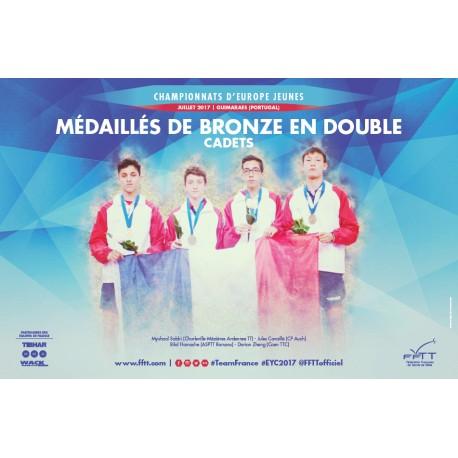 Affiche CEJ 2017 doubles cadets