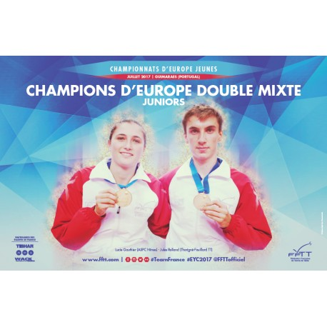 Affiche CEJ 2017 double mixte