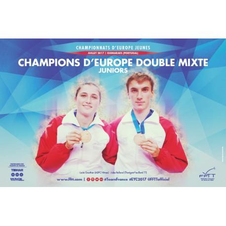 Affiche CEJ 2017 double mixte