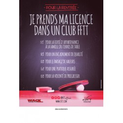 Affiche Licence