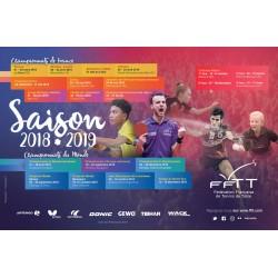 Affiche Saison 2018-2019