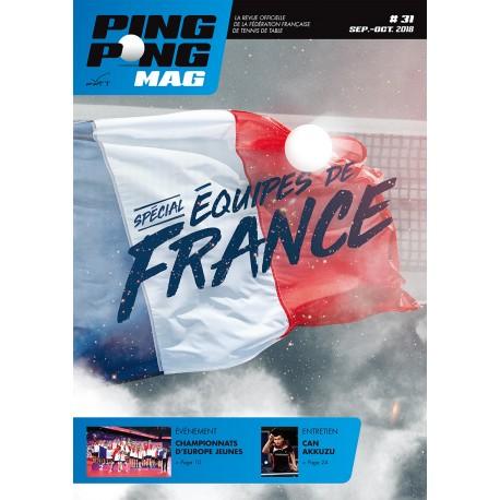 Ping Pong Mag 31 - Sept/Oct 2018