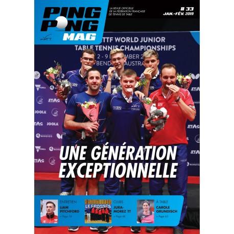Ping Pong Mag 33 - Janvier/Février 2019
