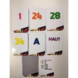 jeu de carte FFTT