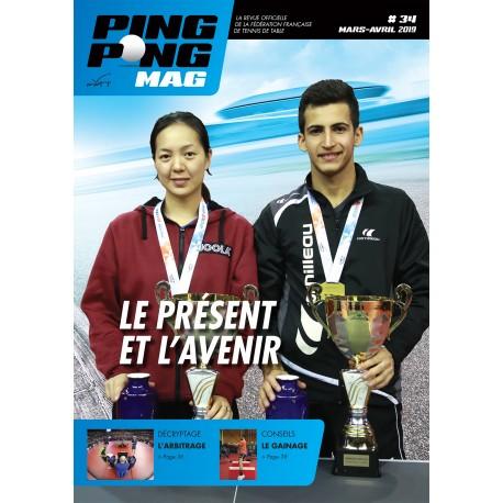 Ping Pong Mag 34 - Mars/Avril 2019