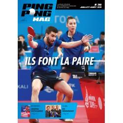 Ping Pong Mag 36 - juillet-août 2019