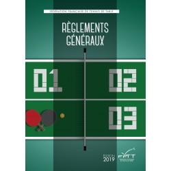 REGLEMENTS GENERAUX 2019