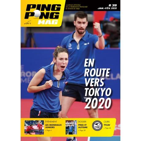Ping Pong Mag 39 - janvier-février 2020