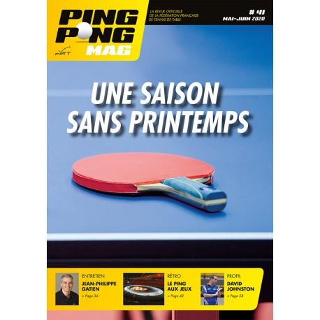 Ping Pong Mag 41 - mai-juin 2020
