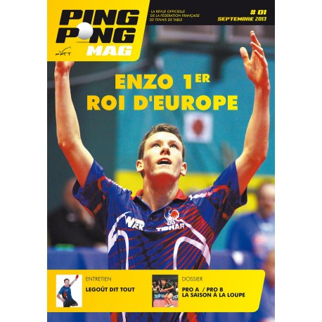 PING PONG MAG N°1 - SEPT-OCT 2013