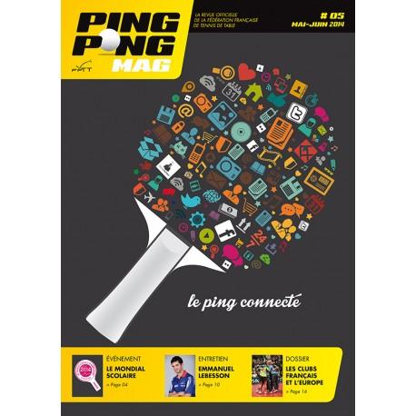 PING PONG MAG N°5 - MAI-JUIN 2014