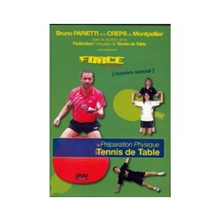 DVD PREPARATION PHYSIQUE EN TENNIS DE TABLE