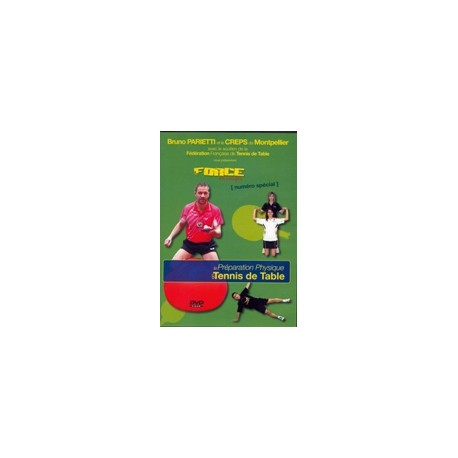 DVD PREPARATION PHYSIQUE EN TENNIS DE TABLE