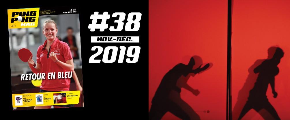 PING PONG MAG N°38 - novembre-decembre 2019