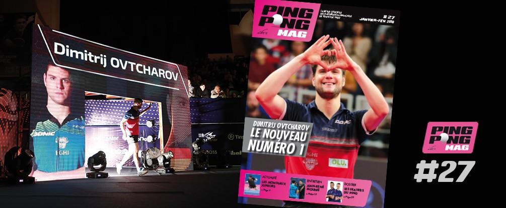 PING PONG MAG N°27 -  Janv/Février 2018